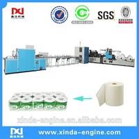toilet tissue rolls converting machine line