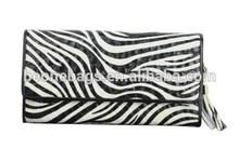 Alibaba Express Deluxe Show Zebra Stylish Party lady Holder Bag