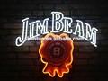 Forte decorazione Jim Beam neon con c- tick approvazione