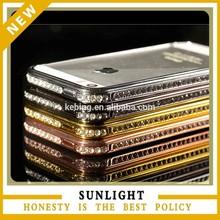 2014 metal aluminum frame cell phone case bumper for Iphone 5/6 /6 plus case