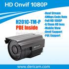 Dericam H201C-TM-P H264 ONVIF POE Outdoor Full HD 2.0 MegaPixel 1080P IP Camera Support IEEE802.3af