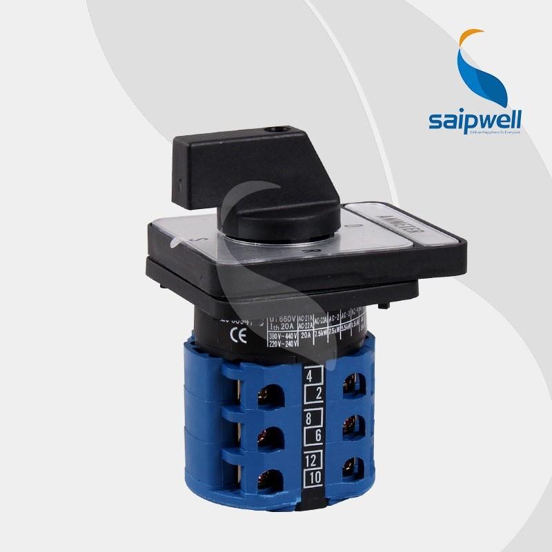 generator automatic transfer switch wiring diagram LW26-20 AMMETER