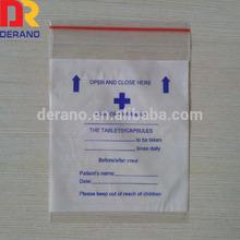 china factory cheap medicine grip seal bag