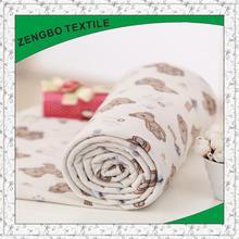 elegant dragon printed fleece fabric