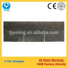 3 tab fiberglass asphalt tile