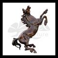 modernes de haute qualité cheval de bronze sculpture tête
