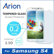 2.5D Ultra Thin Premium Explosion-proof Anti-scratch Tempered Glass Screen Protector Film for Samsung Galaxy S4 i9500 0.2mm