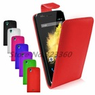 PU Leather Stand Flip Protection Case Cover + Screen Protector For Wiko Birdy
