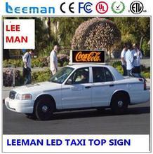 wireless led display board digital taxi top