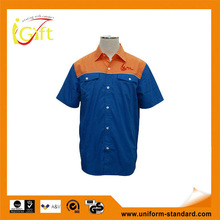 2014Good quality new design cheap price wholesale shirt color combinations