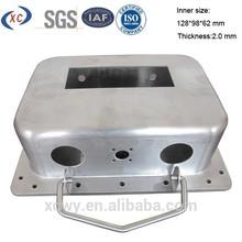 Custom anodized aluminum case for explosion proof instrument