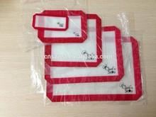 Non stick Heat resistant Reusable fiberglass mat non-stick Silicone baking mats