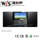PM201 Audio video hifi music system Speaker support FM/USB/SD card function
