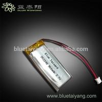 3.7V 900mAh Lithium Polymer Batteries 902248 High quality
