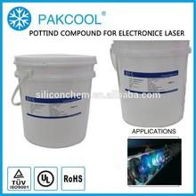 Non-TOXIC thermally conducitity silicone rubber adhesive glue encapsulant with solar inverter