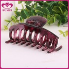 Spray painting PC plastic large hair claw