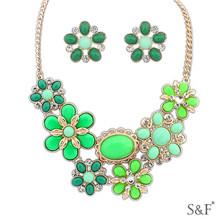 107057 Best selling copper jewelry set