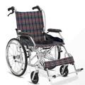 manual de alta qualidade de viagem dobrável de alumínio leve cadeira de rodas