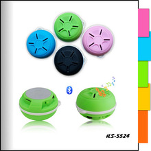 Portable Super Bass wireless mini bluetooth speaker with led light