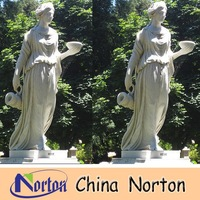 White marble statue of hebe NTMS-R001