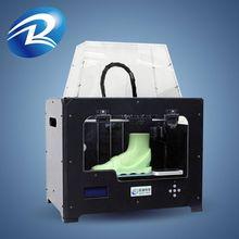 New arrivial printer 3d dual extruder,dgi large format printers,3d printer kit metal