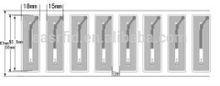 14.5MHz 1k byt Memory RFiD Dry/wet inlay label Esrl-508(FM)