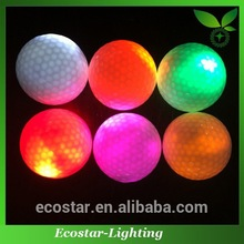 Ultra brightness night practice inflatable golf ball for golf course