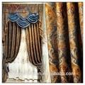 Draperies, pochoir fleurs isoléscouleurs rideaux pli de pincement, rideaux royale