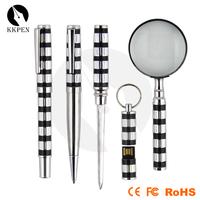 Shibell cross pen ostrich feather pen gun metal pen