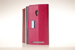 Hot selling wallet stand folio pu leather cover case For Asus ZenFone 4 A450CG