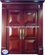 Villa Solid oak wood entrance door