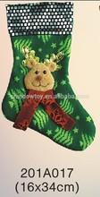 Fashional Style Cheap christmas snowman shape socks Ornaments