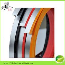 customised plastic home decorative pvc edging decoration strips