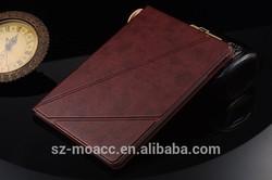 Retro Genuine leather smart case for ipad mini 3 2 1