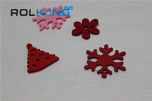 top quality adhesive felt christmas decoration