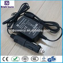 output 12v car cigarette lighter power adapter