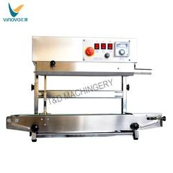 plastic bag sealing machine, continuous band sealer machine, plastic bag sealer