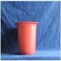 recyclés pots en plastique