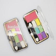 cosmetic eyeshadow display color makeup glitter eyeshadow