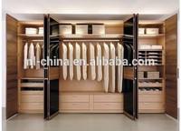 2014 hot selling italian style durable home closet fabric closet doors