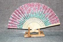 hot sale promotional Japanese hand fan bamboo fan customized gifts
