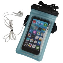 Waterproof large phone case/bag with Velcro sports arm strap