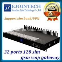 custimized Ejontech IMEI change 32 port 64/128 sim cards equipment for reseller