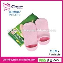 Best Sales PILATEN Feet Care Gel Whitening, Moisturizing, Exfoliating Spa Socks, Silicone Socks