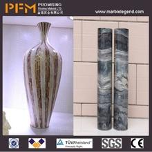 China natural stone natural looking planter pots