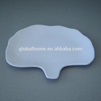 J163 ginkgo leaf shaped melamine plate