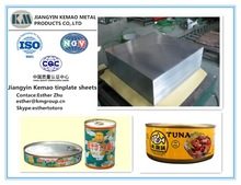 JIS G3303 PRIME TINPLATE SHEET/PRICE FOR TIN SHEET FOR TYPES OF BEST CANNED TUNA AND CANNED SARDINE TIN CANS