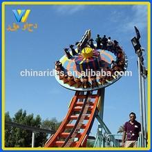 Adventurous theme park rides led flying disc for promotion