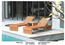 Outdoor garden courtyard lounge kerala wood furniture FWM-032