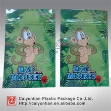 Hot sale Sexy monkey/ Crazy monkey/Mad monkey herbal incense bag 4g 10g